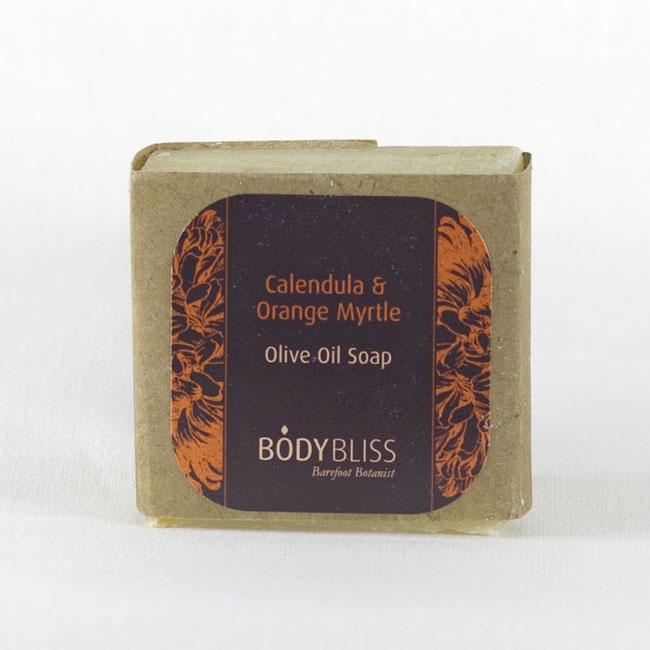 Calendula & Orange Myrtle Olive Oil Soap