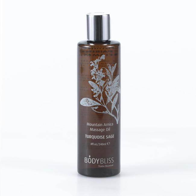 Turquoise Sage - Mountain Arnica Massage Oil