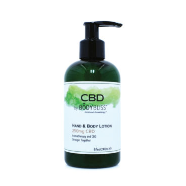 CBD Hand & Body Lotion with 250 mg CBD