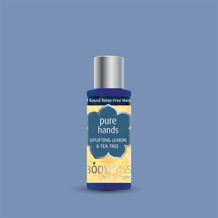 Pure Hands Rinse Free Hand Wash – Lemon, Tea Tree & Lavender
