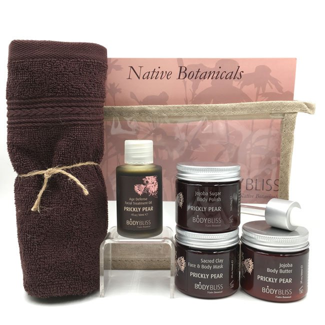 Prickly Pear Home Spa Set